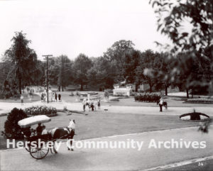 Entrance to Hershey Park, ca. 1920-1930