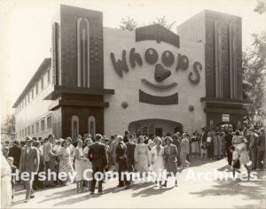 The Fun House was remodeled and renamed WHOOPS in 1938.