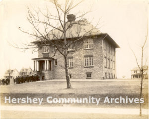Named for the recently slain United States president, McKinley School enabled the school district to establish a township high school. ca. 1906
