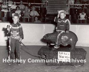 Hershey Park Baby Parade, 1955