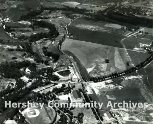 Aerial, Hershey Park (Parkview) Golf Course, July 28, 1932