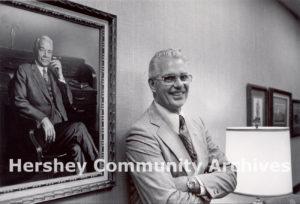 Bill Dearden returned to work for Hershey because he felt he had a debt to repay in gratitude for Milton Hershey's generosity. 1979