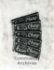 "Hershey's ""Easy Chew"" Chewing Gum, ca. 1915-1917"