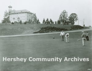 The Hotel Hershey's executive golf course, ca. 1935-1950