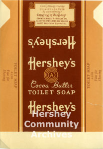 Hershey's Cocoa Butter Soap Wrapper, ca. 1938-1952