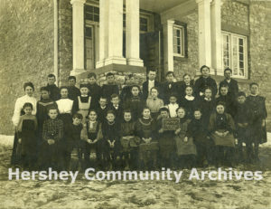 Students enrolled in Derry Township secondary educational program, 1906