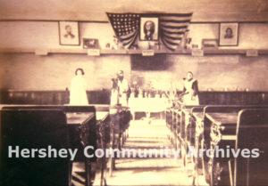 McKinley School classroom, 1910 (Image courtesy of Neil Fasnacht)