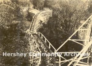 Wild Cat roller coaster, ca. 1925