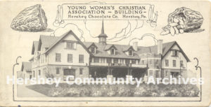 Hershey's Y.W.C.A. was organized in February 1910.
