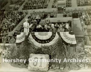Milton Hershey's 81st birthday celebration, September 13, 1938