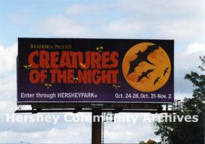 Creatures of the Night billboard, 1996