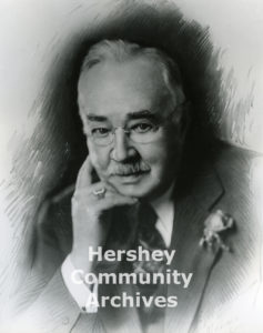 Employees presented Milton Hershey with a specially designed ring in 1937.