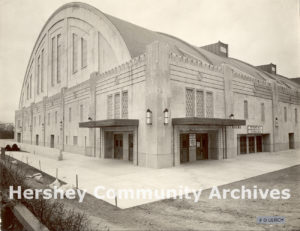 Hershey Sports Arena, main entrance, 1936