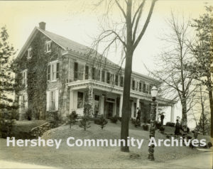 Hershey's first museum was located on E. Derry Road, not far from Hershey Park. ca. 1933-1938