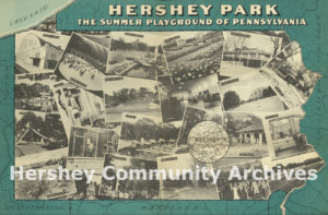 "Brochure marketing Hershey as ""Pennsylvania's Summer Playground,"" ca. 1940"