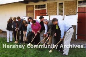 Groundbreaking for Hershey Area Playhouse, October 2006
