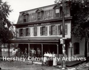 Haefner House tavern, Derry Church, PA, ca. 1910