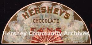 Hershey's Chocolate Fans, 1896-1904