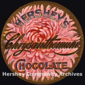 Hershey's Chrysanthemum Chocolate, ca. 1896-1904
