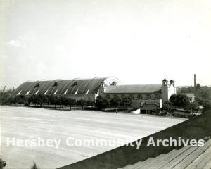 Hershey Sports Arena and Hershey Museum (former Convention Hall), ca. 1939-1949