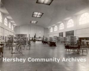 Hershey Museum, Interior, ca. 1938-1950