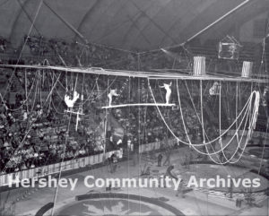 In addition to hockey, the Arena hosted a wide array of entertainment. 1957