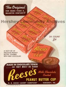 Customer Sales Brochure, H.B. Reese Candy Company, ca. 1950