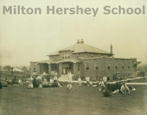 Fosterleigh student home in 1927, is now Transitional Living home Allen