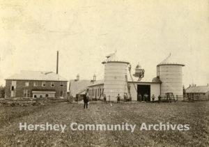 Experimental milk plant at the Homestead, ca. 1904-1904
